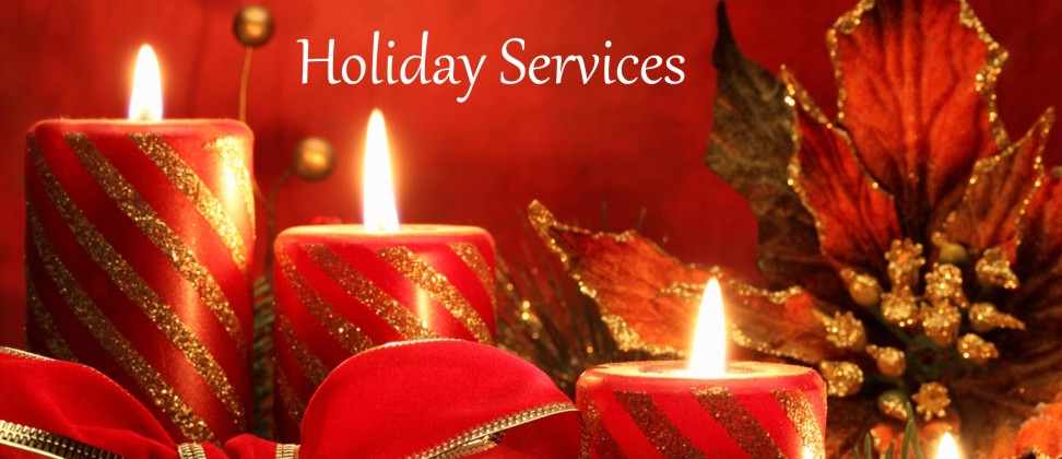 Christmas & Holiday Services