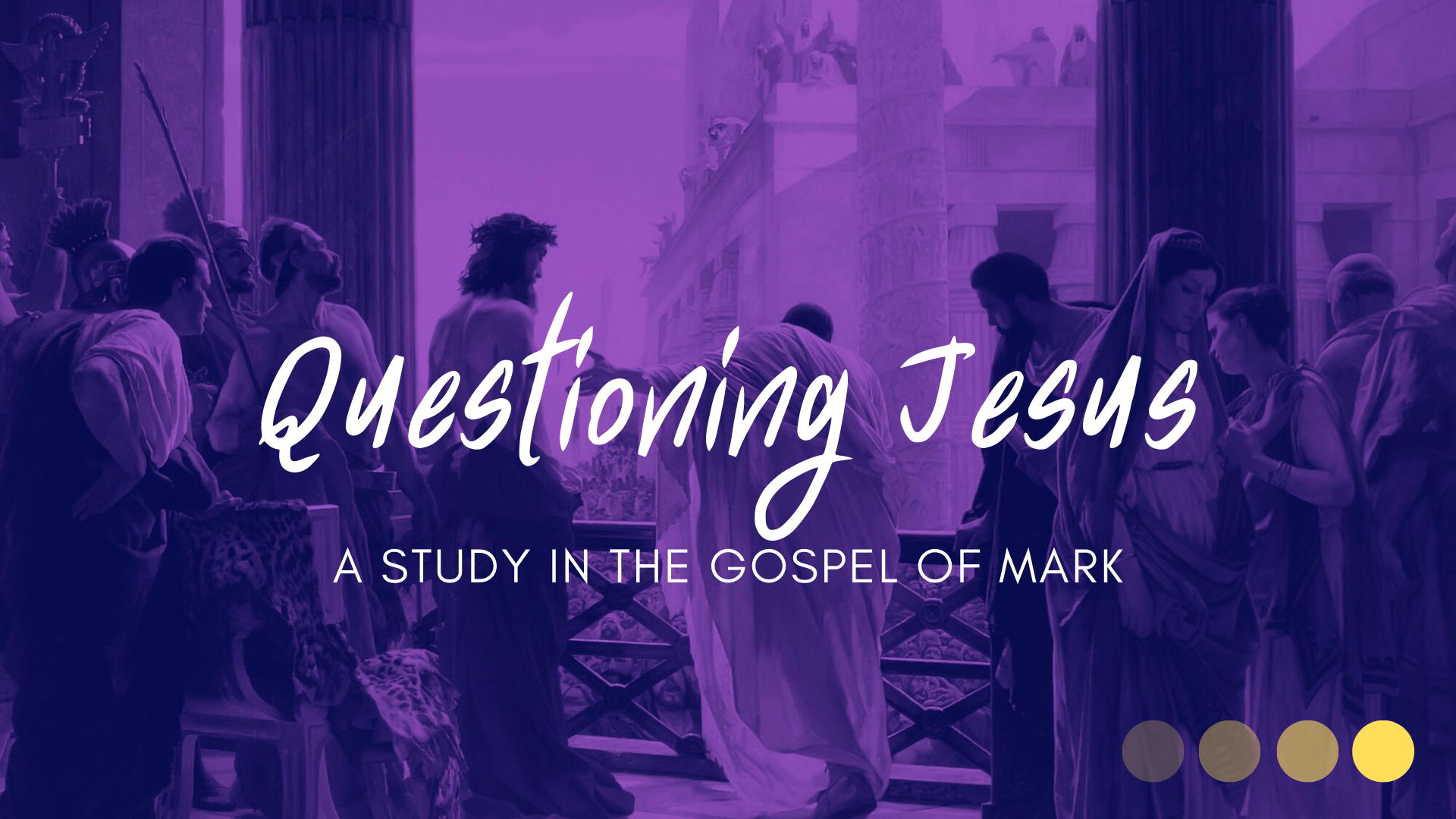 SERMON – Questioning Jesus: Mark 2:1-12, 23-27; 3:1-6