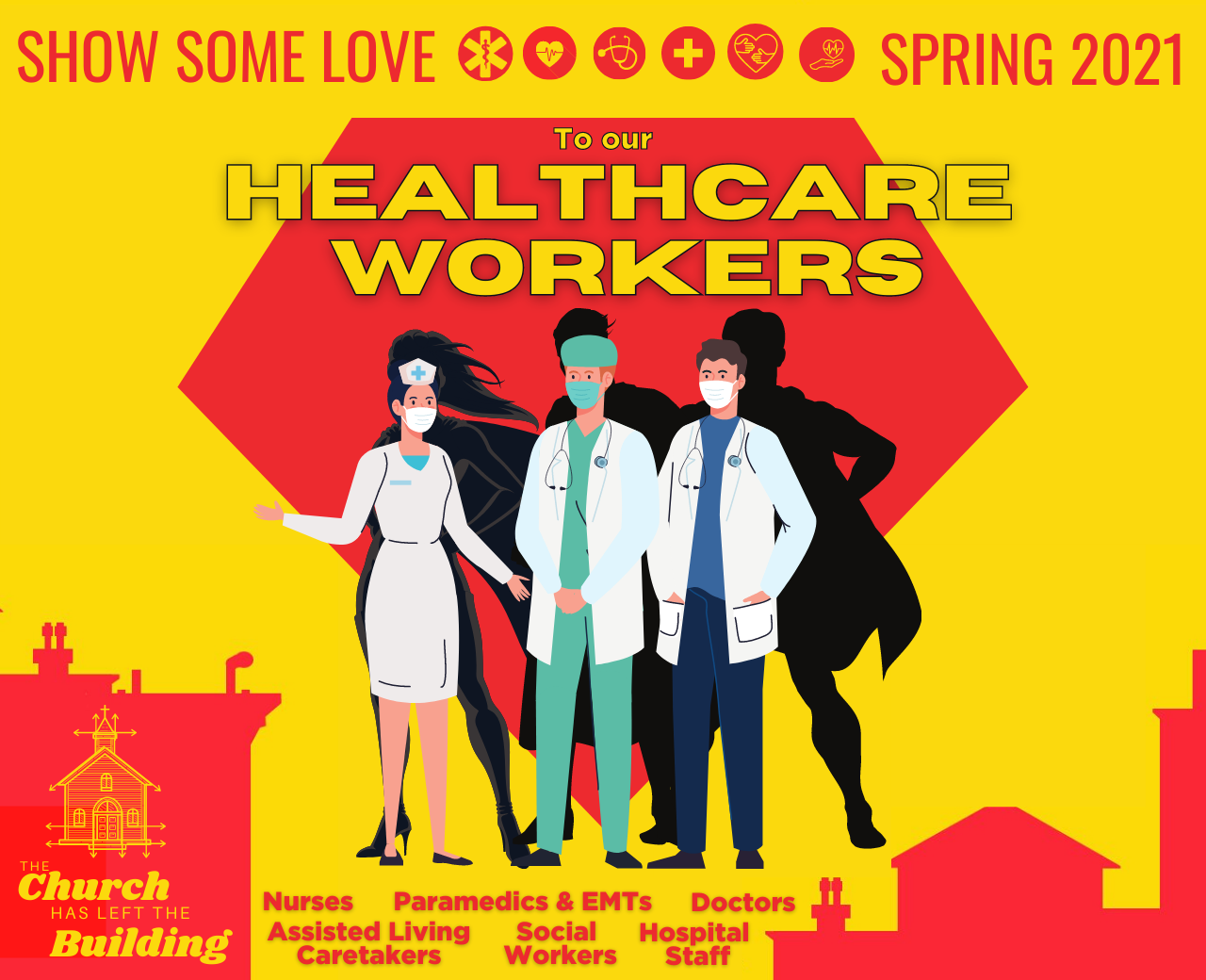 Show some love to our healthcare workers